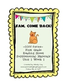 First Grade Sam, Come Back! CCSS Reading Street Series Materials
