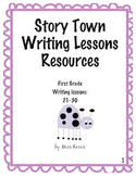 First Grade StoryTown Writing Lesson 21-30