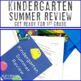 First Grade Summer Readiness Packet