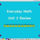First Grade Unit 3 Everyday Math Review Flipchart