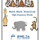 First Grade Word Work Pack