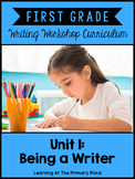 First Grade Writing Workshop: Unit 1 {Introduction to the