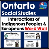 First Nations and Europeans in New France and Early  Canad