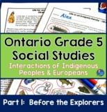 First Nations and Europeans in Early Canada Part One - Bef
