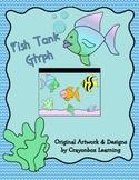 Fish Tank Glyph, Graphing Activity, Ocean Theme, Craftivity