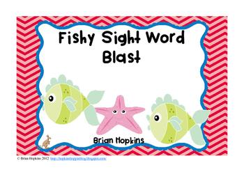 Fishy Sight Word Blast FREEBIE