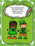 Five Fabulous St. Patricks Day Math Centers