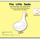 Five Little Ducks Song (Subtraction to 5)