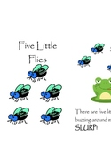 Five Little Flies - Emergent Reader