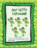 Five Little Leprechauns - A St. Patrick's Day Poem FREE