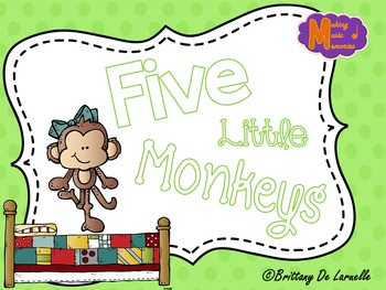 Five Little Monkeys - Visuals for Popular Folk Song