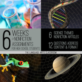 Nonfiction Writing Activities - Science Themed