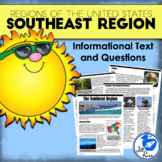 Regions of the United States: Southeast, Informational Tex