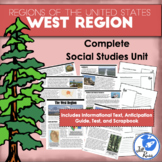 Regions of the United States: West, Complete Unit (5 Regions)