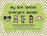 Five Senses Emergent Reader