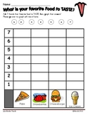 Five Senses Graphing Activities