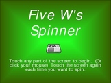 Five W's Spinner