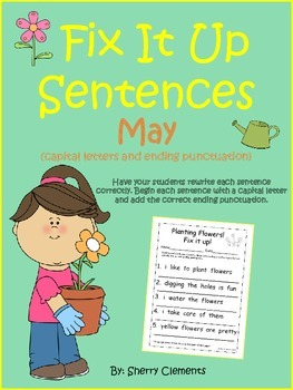Fix It Up Sentences (May)