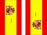 Flags to Fold of Spanish Speaking Countries
