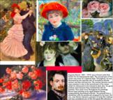 Flash Cards, 18, Impressionists & Post Impressionists Artists