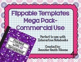 Flippable Template Mega Pack for Commercial Use (PDF and E
