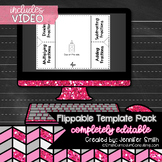 Flippable Template Pack for Personal Use (PDF and Editable)