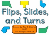 Flips Slides & Turns - Learn Motion Geometry - SMART Notebook