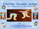 Floating Through School (beginning or end of the year craftivity)