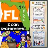 Florida Standards - 1st Grade Math & ELA Bundle