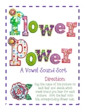 Flower Power: A Vowel Sound Sort