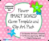 Flowers SMART BOARD Game Template and Clip Art - Commercia