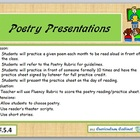 Fluency Building Poetry Presentation Rubric CCS RF.5.4