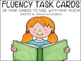 Fluency Center Task Cards