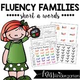 Fluency Families {short a words}