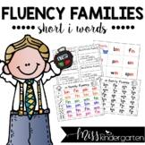Fluency Families {short i words}