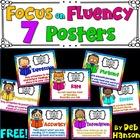 Fluency Posters FREEBIE (Improving Reading Fluency)