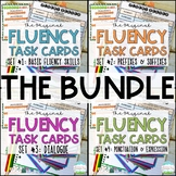 Fluency Task Cards BUNDLE { Oral Reading Fluency Practice }