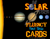 Fluency Task Cards {Our Solar System Facts}