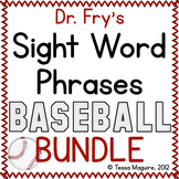 Fluency with Fry Sight Word Phrase Baseball- BUNDLE