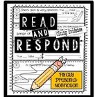 Fly Guy Presents Nonfiction Reading Response Citing Eviden