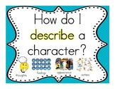 Characters Unit: Focus Wall, Essential Questions, Key Lear