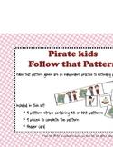 Follow that Pattern- Pirate  theme