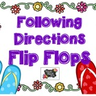 Following Directions Flip Flops [FREE]