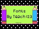 Fonts - 34 MEGA Bundle
