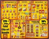 Food Clip Art Value Bundle by Charlotte's Clips