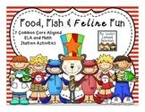 Food, Fish & Feline Fun {March Stations}