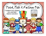 Food, Fish & Feline Fun {March Stations}