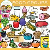 Food Groups Clip Art