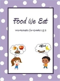 Food Sources - Grouping Food & the Food Pyramids worksheet