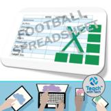 Excel Activity Football Spreadsheet
